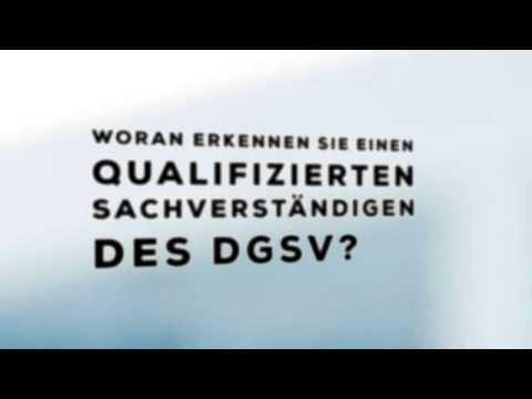Imagevideo für Gutachter und Sachverständige des DGSV
