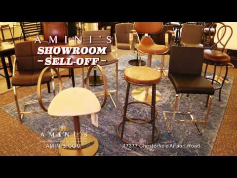 Amini's Fall Floor Model Sell Off