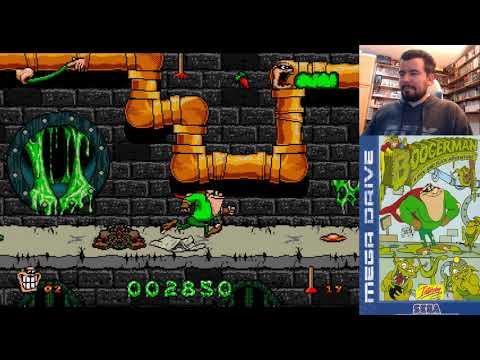 BOOGERMAN (Megadrive / Genesis) - El Rey del Gas - Gameplay || ¿MORRALLA O GENIALIDAD?
