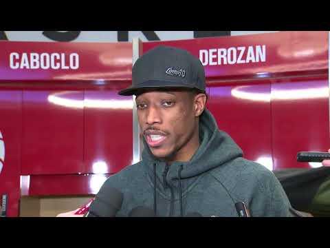 connectYoutube - DeMar DeRozan Postgame Interview / Raptors vs Spurs / Jan 19