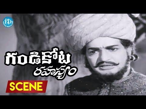 Gandikota Rahasyam Movie Scenes - NTR Fires On Rajanala    Jayalalitha    Mikkilineni