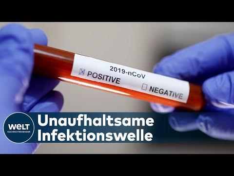 ANGST VOR CORONA-PANDEMIE: Immer mehr Länder melden Covid-19-Infektionsfälle