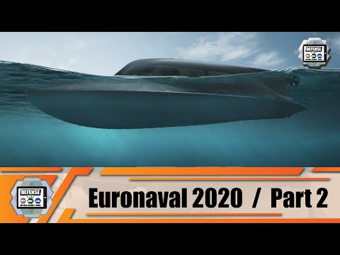 Euronaval Online 2020 Daily 2/2 products and technologies of international naval defense industry
