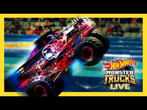MEET THE REAL LIFE BONE SHAKER! 💀 | Monster Trucks LIVE |@Hot Wheels