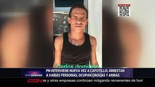 PN interviene nueva vez a Capotillo, arrestan a varias personas
