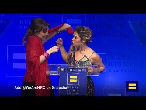#HRCLADinner Livestream:  Katy Perry, Lena Dunham, America Ferrera