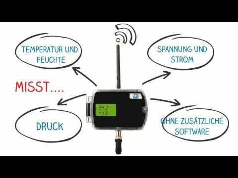 zED-P Wireless-Temperatursensor von OMEGA