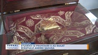 Studenti si profesori s-au rugat Sfantului Andrei Saguna
