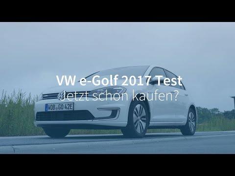 VW e-Golf (2017) Test: Jetzt schon ein Elektroauto kaufen?