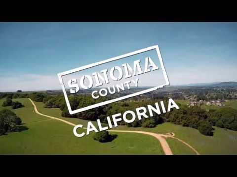 Vackra Sonoma County i Kalifornien