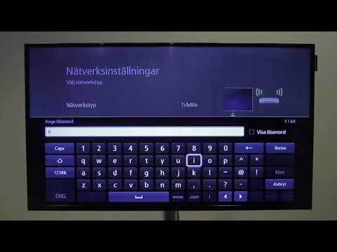 Anslut till Wifi med smart-tv modell 1