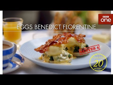 connectYoutube - Mary Berry's tasty eggs Benedict Florentine - Classic Mary Berry - BBC One