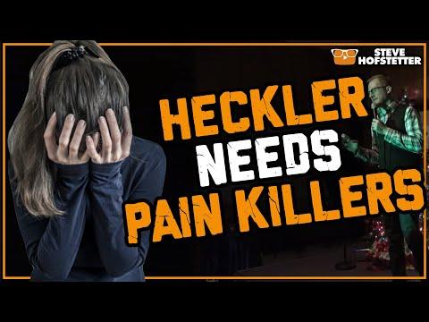 connectYoutube - Heckler wants vicodin - Steve Hofstetter