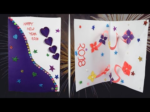download youtube to mp3 new year card 2018 how to make new year card easily new year pop up card handmade