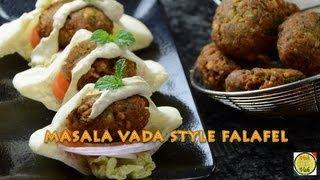 Masala Vada Style Falafel ..