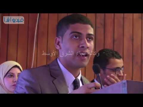 """بالفيديو : رئيس جامعة سوهاج يدشن مبادرة """" طلاب من أجل مصر """" للكشف المبكر عن مرض السكر بين الطلاب"""