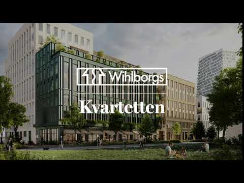 Kontorshuset Kvartetten - Den människocertifierade arbetsplatsenI
