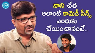 Director Mohana Krishna Indraganti About Nani's Comedy Scenes in V Movie | Sudheer Babu - IDREAMMOVIES