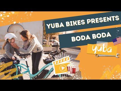 Family adventures on the Yuba Boda Boda compact electric cargo bike