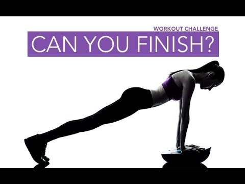 Full Body Workout Challenge (CAN YOU FINISH THIS??)
