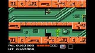 Teenage Mutant Ninja Turtles - Nes - Full Raphael Playthrough - No Death