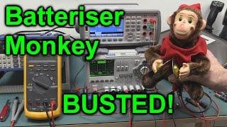 EEVblog #789 - Batteriser Monkey BUSTED!