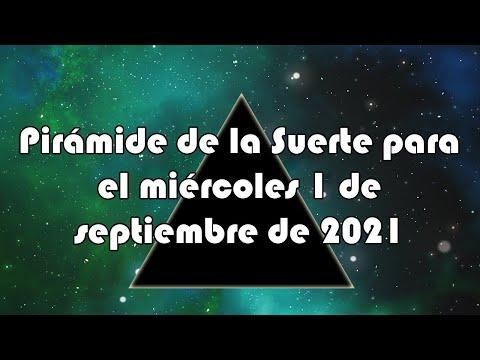 Lotería de Panamá - Pirámide para el miércoles 1 de septiembre de 2021