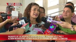 Alcaldía de Managua entrega regalos en Hospital Vélez Paiz – Nicaragua