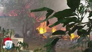 WATCH: Fire on Love Lane, Kingston