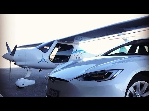 Awesome All-Electric Airplane Cheaper than Tesla Model S (P100D)