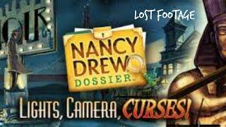 Nancy Drew Dossier: Lights Camera Curses   Lost Footage  