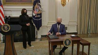 Biden advierte que covid puede dejar 600.000 muertos en EEUU y urge aprobar plan de rescate | AFP