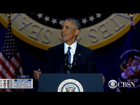 connectYoutube - WATCH LIVE: President Obama delivers his farewell address