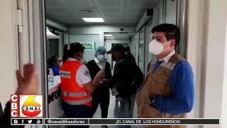 Casi listo el hospital móvil en Santa Rosa de Copán