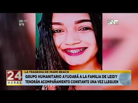 Familia de Leidy Luna viajará el Sábado