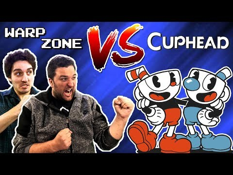 connectYoutube - WHY IS THIS GAME SO HARD?! (Warp Zone VS Cuphead)