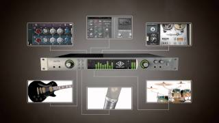 Apollo High-Resolution Interface with Realtime UAD Processing Commercial