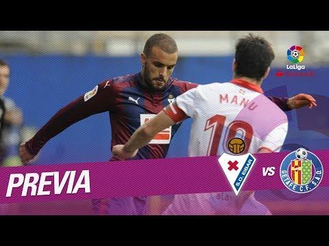 Previa SD Eibar vs Getafe CF