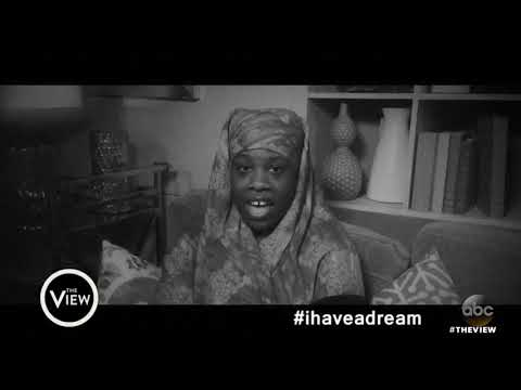 connectYoutube - 'View' Fans Share What Their Dreams Are On MLK Day   The View