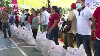 Presentan plan nacional de producción del ciclo agrícola 2021 en Tipitapa - Nicaragua