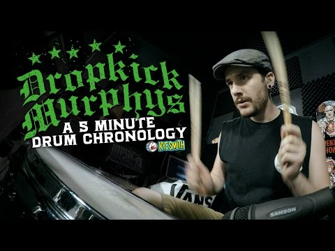 connectYoutube - Dropkick Murphys: A 5 Minute Drum Chronology - Kye Smith [4K]