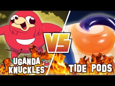 UGANDA KNUCKLES Vs. TIDE PODS | Versus | Before They Were Famous MEME