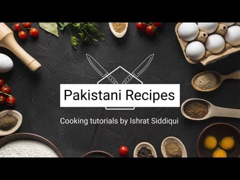 Pakistani Recipes ( Logo and intro )