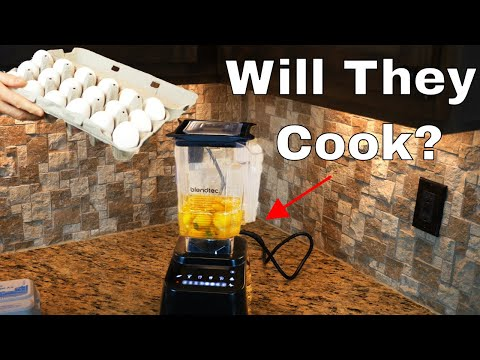 Cooking Eggs Using Only Super-Fast Mixing—Will it Work?