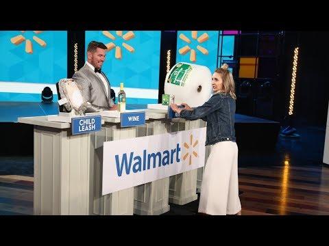 Ellen's Audience Member Wins Big in 'Weally Wacky Walmart Wace'