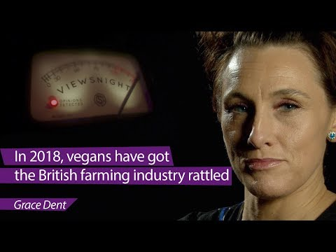 connectYoutube - 'Vegans have got the British farming industry rattled': Grace Dent - Viewsnight