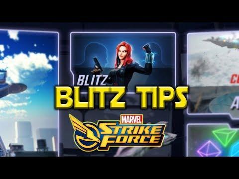 Blitz Mode Tips l Marvel Strike Force