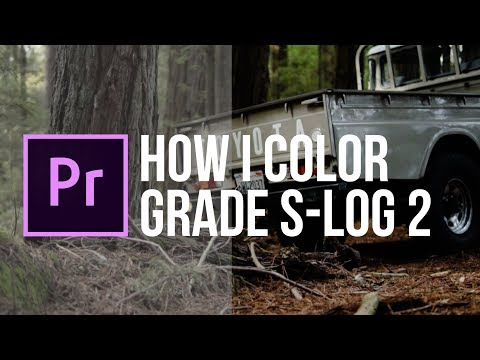How I color grade S-Log 2 / Sony A7Riii / Sony a6500