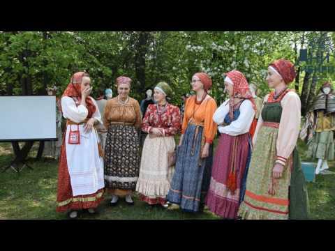 Творческая встреча с фольклорным ансамблем \Росстань\ Новосибирск