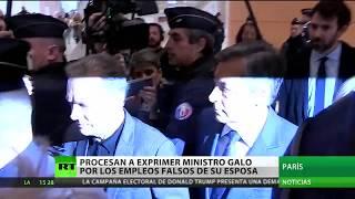 Procesan a un ex primer ministro francés por los empleos falsos de su esposa